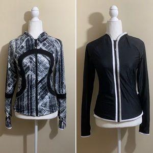 Lululemon Find Your Bliss Jacket Black / Heat Wave